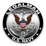 USN Legalman Eagle LN