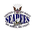 USN Navy Seabees Eagle Bee