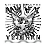 USN Navy Eagle Chiseled