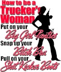 How to be a Trucker's Woman