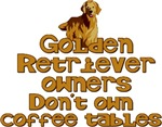 Golden Retriever Coffee Tables