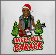 Obama Christmas Jingle Bell Barack Shirt