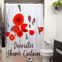 Decorator Shower Curtains