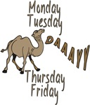 Hump Day Camel Weekdays