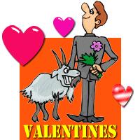 Goat Valentines