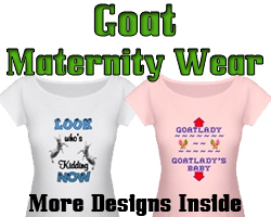 Maternity T-shirts for Goat Lovers