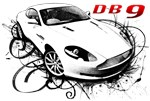 DB9 in swirls