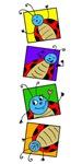 Smiling Ladybugs