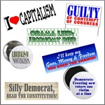 Stickers, Buttons, Yardsigns
