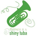 Happiness is a Shiny Tuba