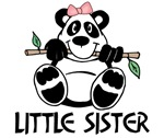 Cute Panda Little Sister
