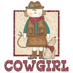 Cowgirl and Coyote
