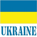 Ukraine Flag/Name