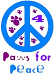 Paws for Peace Blue