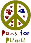 Paws for Peace Olive
