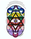 Kabbalah David's Tri Star Shield