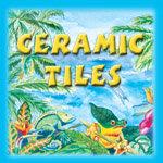 Caribbean Colors Art Tiles & Jewelry Boxes