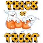 Trick Or Treat Halloween Ghosts
