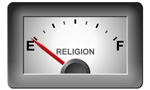 Religion: Running On Empty