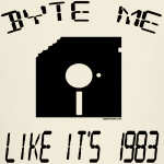 Byte Like 1983 T-Shirt