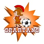 SPARTANS SOCCER TEAM T-SHIRTS AND GIFTS