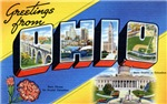 Greetings from Ohio T-shirt Tshirts & Gifts