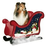 Sheltie's Magic Sleigh