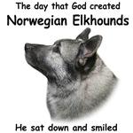 The Creation of Norwegian Elkhounds