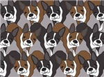 NEW!!  Allover Boston Terriers Designs