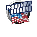Navy Husband T-Shirts