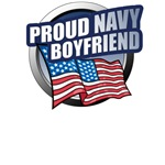 Navy Boyfriend T-Shirts