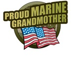 Marine Grandmother T-Shirts