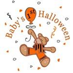 Baby's 1st Halloween T-Shirts (Boy)