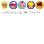 Cupcake Diversity T-Shirts