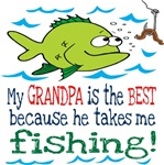 Grandpa Takes Me Fishing
