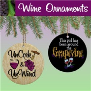 Wine Ornaments