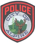 Alpine Texas Police