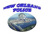 NOPD Badge in the Sky