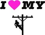 I heart my Lineman