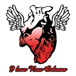 I Love New Orleans Heart
