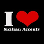 i love (heart) sicilian accents