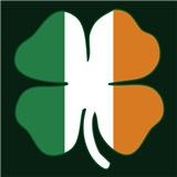 Irish Flag Shamrock