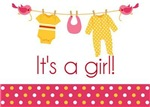 It's a Girl Announcements