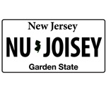 Nu Joisey License Plate