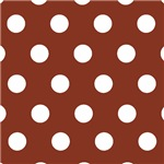 Cute Brown Polka Dots