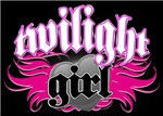 Pink Gothic Twilight Girl