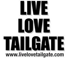 Live Love Tailgate Black