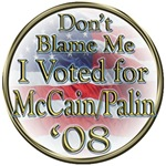 Don't Blame Me McCain