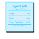 Little Boy Ingredients