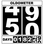 50th Birthday Oldometer
